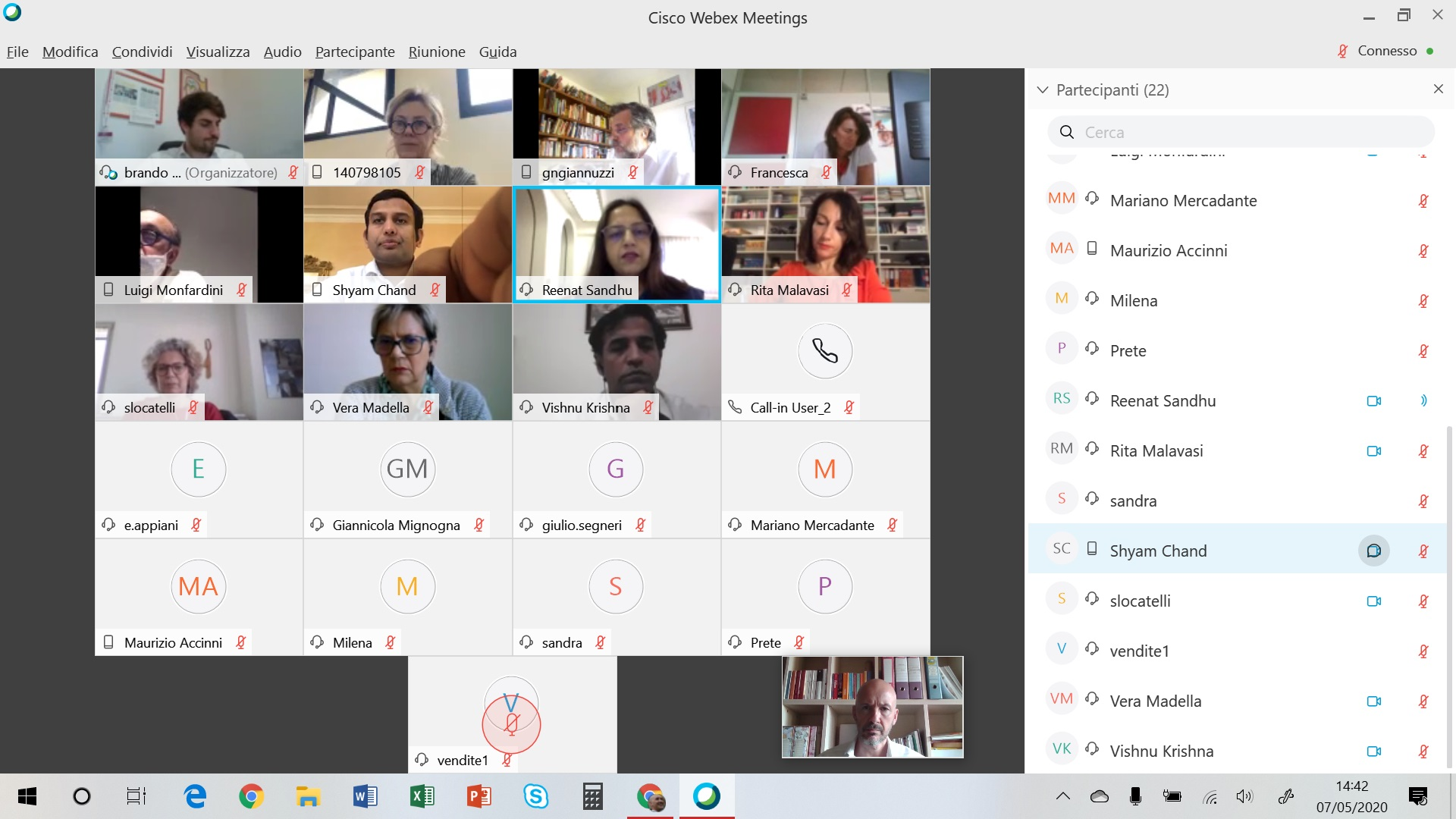 FIRST INTERACTIVE WEBINAR - TRAINING ACTIVITIES FOR ACCESS INDIA INITIATIVE PROJECT